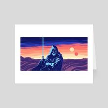Wizard of the Jundland Wastes - Art Card by Matt Kehler