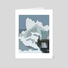 Crashing Wave - Art Card by Jordan de Graaf