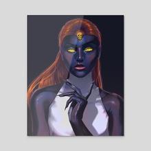 Mystique - Acrylic by Joel Furtado