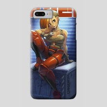 Space Girl 04 - Phone Case by Karla Diaz