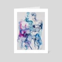 Intertwining - Art Card by Per Kunst