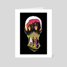Blackwood x Wren - Art Card by Veronica Fish