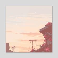 Years Away - Acrylic by merrigo