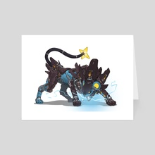 Mecha Luxray - Art Card by Guillem Ferrer