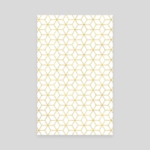 Gold + Geometric - Canvas by 83 Oranges