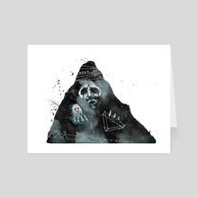 Wizard - Art Card by Ben Moss