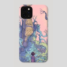 Totem Molt - Phone Case by Haan Lee