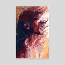 Wisp - Canvas by Myriam Tillson