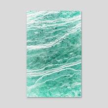 Green Salt - Acrylic by 83 Oranges