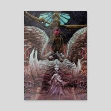 Angel's Egg - Acrylic by Bolzak