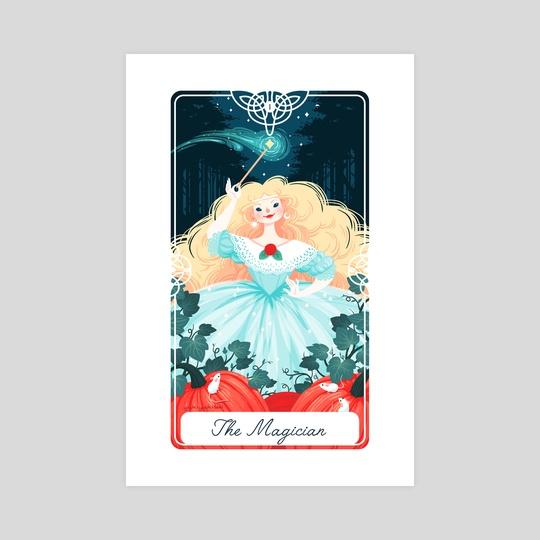1 - The Magician : Fairytale Tarot by Yoshi Yoshitani