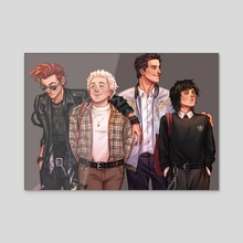 Good Omens University 2.0 - Acrylic by Nandskarth