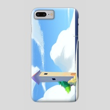 Ocean place - Phone Case by Anton Domin