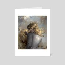 Giorno Giovanna Dio Pose  - Art Card by bussiarati