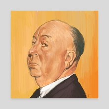 Alfred - Canvas by Frankie Smith