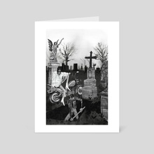 The Dead Weather - Art Card by Martha Walker