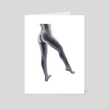 Legs - Art Card by Nika Akin