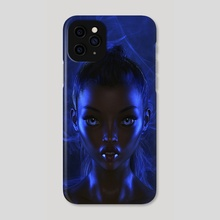 Blue Fantasy - Phone Case by Andy Art