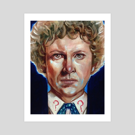 The 6th Doctor by Grant Cooley