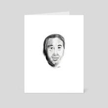 Murakami - Art Card by Kevin Durr