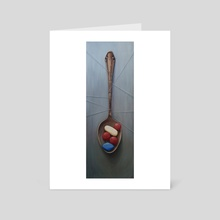 Your Daily Spoonful - Art Card by Sylvain Klein