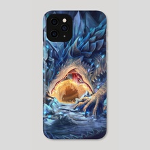 Nightmare in Ivory - Phone Case by Katy Grierson