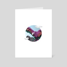 Colors Speak - Art Card by Vectoria :  visually vectorized