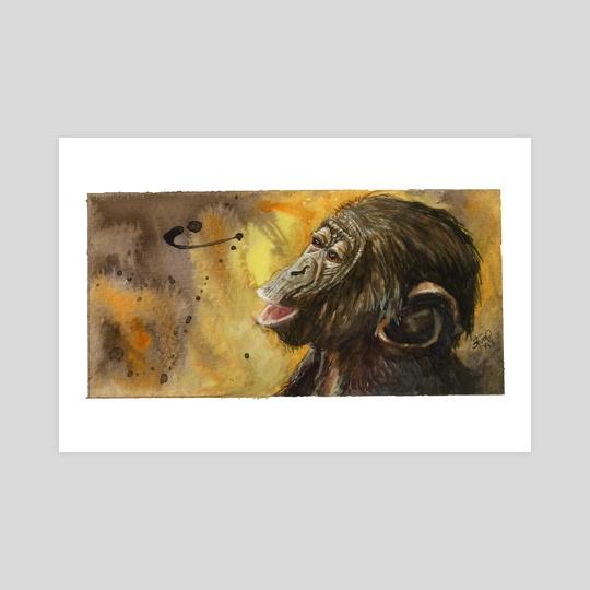 Baby Monkey by Kendall Stump