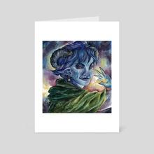 Toll the Dead - Art Card by Rache Bones