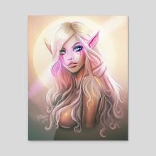 Elenia 2 - Acrylic by Dhaxina Dee