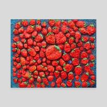 strawberry heaven - Canvas by Kristian Leov