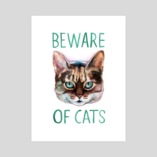Beware Of Cats by Megan Kott