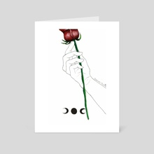 Rose - Art Card by Bree Brennan