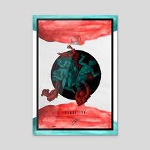 """Damnation"" - Acrylic by Joshua Cole"