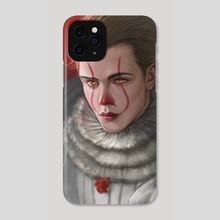 Pennywise Bill - Phone Case by Dyana Wang