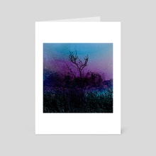 A Peaceful Darkness - Art Card by Paul Raven