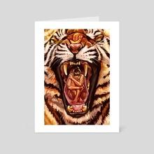 Predator - Art Card by Rebecca Flaum