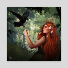 Keyleth - Canvas by Rachel McEwan