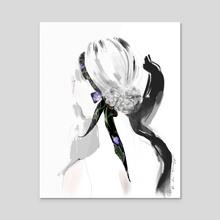 Turn Around - Acrylic by Olivia Tse