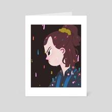 El - Art Card by Nan Lawson