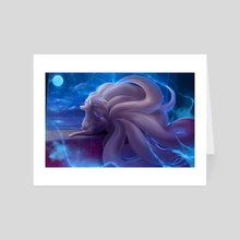 Ninetales - Art Card by Dena