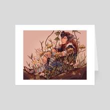 Thrush - Art Card by Jenna Soberman