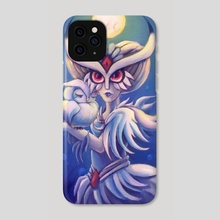 Owl lady - Phone Case by Evanatt