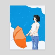 After the rain - Canvas by Sai Tamiya