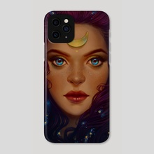 Luna - Phone Case by Maria Dimova