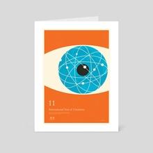 IYC Atomise (John Dalton) - Art Card by Simon C Page