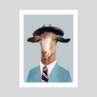 Mr Goat - Art Print by Animal Crew
