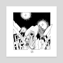Vampyr - Canvas by Katrina Zidichouski