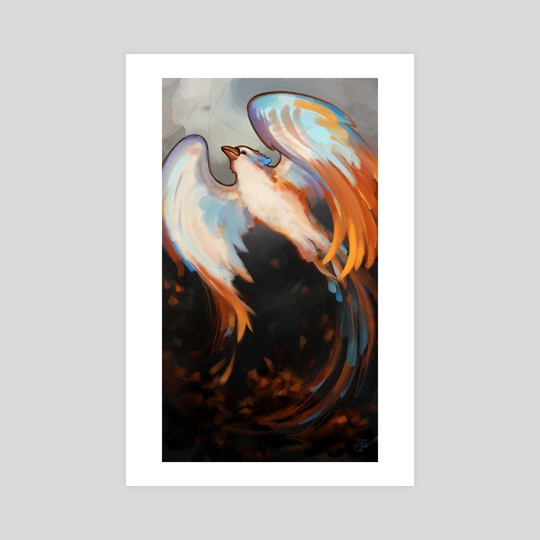 """Phoenix - Beauty from Ashes"" by Jennifer Garrett"