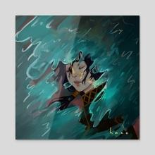 Waves - Acrylic by hano